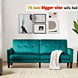 Sofa Bed Sleeper Couches and Sofas - Couch Recliner Convertible Sofa Modern Adjustable Futon Couches Sofas Bed for Living Room Fold Up and Down Recliner Couch