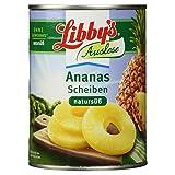 Libby's Auslese Ananas Scheiben natursüß, 350 g