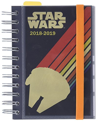Grupo Erik Editores Star Wars- Agenda escolar 2018-2019 día