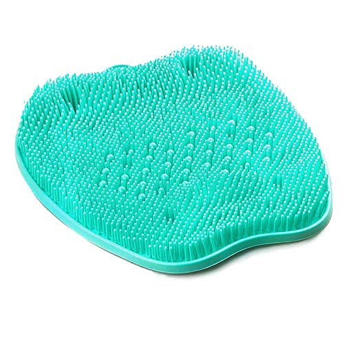 Shower Foot Scrubber Massager Cleaner with Non-Slip Suction Cups, Massager Mat Foot Cleaner for Cleaning Feet, Exfoliation, Acupressure and Improving Foot Circulation