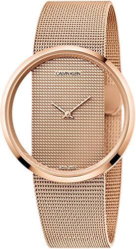Calvin Klein dames analoog kwarts horloge met roestvrij stalen armband K942362A