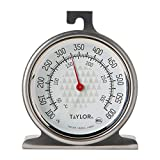 Taylor Precision Products Oven Dial Thermometer, Stainless Steel