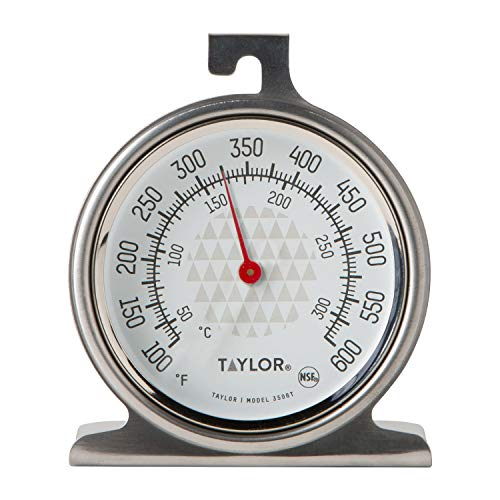 Taylor Precision Products Large 2.5 Inch Dial Kitchen Cooking Oven Thermometer