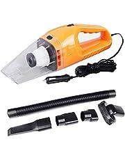 YOZO Car Vacuum Cleaner Vacuum/Sucking, Handheld Vacuum Cleaner with Multiple Attachments & Storage Bag (Orange)