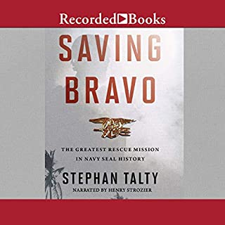 Saving Bravo audiobook cover art