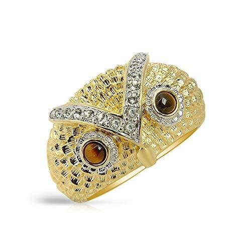 The Elvis Jewellery Collection Herren Statement-Ringe Vergoldet - 803R1836TB-81/39/V