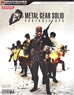Metal Gear Solid: Portable Ops Official Strategy Guide