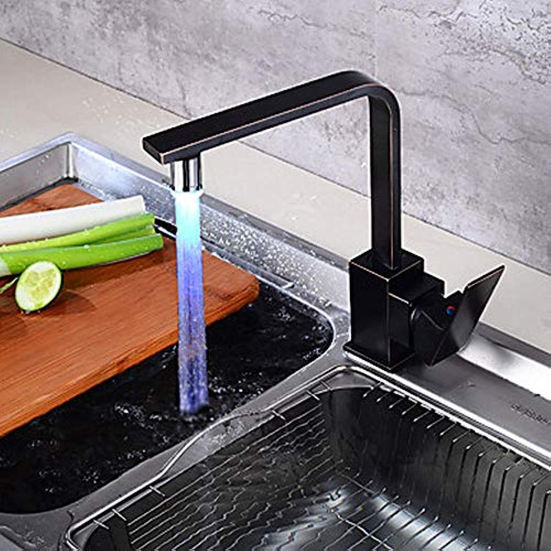 Küchenarmatur Einhand-Einloch-lmühle Bronze High High Arc Center Assembly