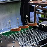 Horquillas telescópicas para barbacoa de acero inoxidable tenedores...
