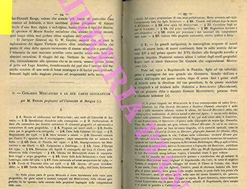 Gerardo Mercatore e le sue carte geografiche.