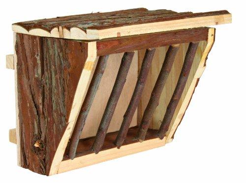 Trixie 61191 Heuraufe zum Einhängen, 20 × 15 × 17 cm
