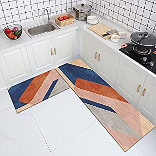 Nordisk stil kök halkfri matta, hushåll vardagsrum sovrum kök dörrmatta, badrum absorberande matta nr.4 40 x 60 cm