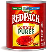 Redpack Tomato Puree, 29oz Can (Pack of 12)