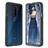 Zectoo OnePlus 7 Pro Armor Clear Case, Heavy Duty Full-Body Hybrid Shockproof Bumper Cover, Anti-Scratch Rugged Cases for OnePlus 7 Pro (2019 Release), Black