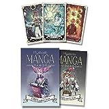 Mystical Manga Tarot Cards Party Tarot Deck Supplies Juego de Mesa inglés Tarjetas de Juego para Fiestas con guía PDF,Deck Game,Only Tarot