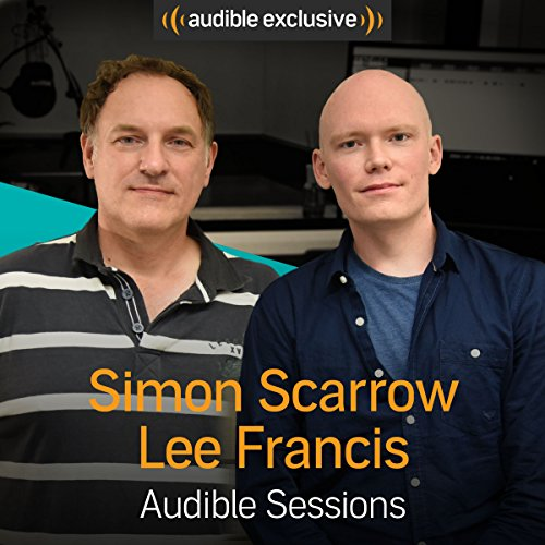 Simon Scarrow and Lee Francis audiobook cover art