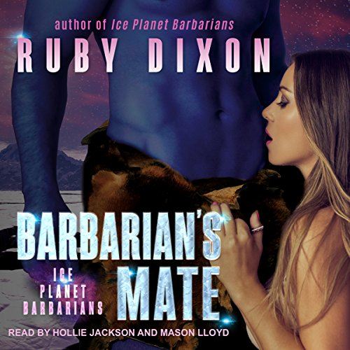 Barbarian's Mate: A SciFi Alien Romance audiobook cover art