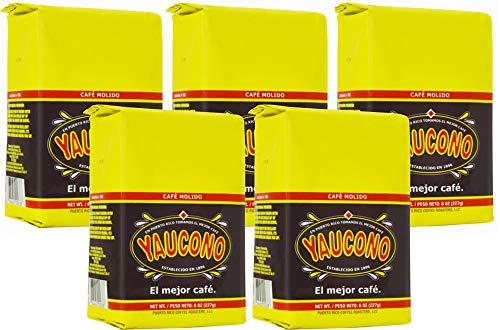 Coffee Yaucono 5 bags 8oz