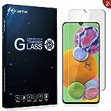RIFFUE Samsung Galaxy A90 5G Protector de Pantalla, Cristal Templado 9H Dureza 3D Touch Glass...