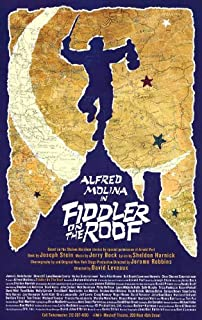 fiddler on the roof poster original
