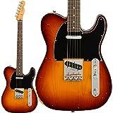 Fender Jason Isbell Custom Telecaster Road desgastado 3-Color Chocolate Burst