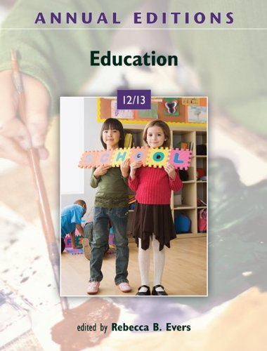 Annual Editions: Education 12/13