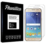 PHONILLICO [Pack de 2] Verre Trempe pour Samsung Galaxy J5 2015 SM-J500 - Film Protection Ecran...