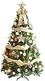 aipipl Árbol de Navidad Adornos de Bricolaje Árbol de Navidad Artificial sin iluminación con Adornos Colgantes Soporte de Metal Oficina Decoraciones navideñas de Interior 1114 (Tam