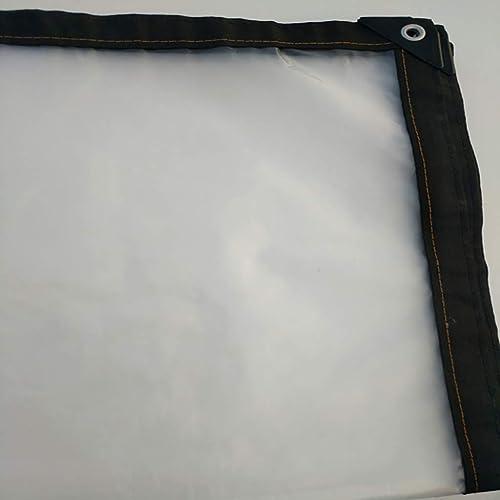 Plan Transparente Balcon extérieur étanche à la poussière et au froid avec bache en plastique transparente pour écran solaire en tissu de prougeection solaire Tissu imperméable épaissi ( taille   2x2m )