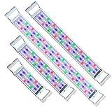 UISEBRT LED Aquarium RGB Beleuchtung 11W - Aquarium Pflanzen Lampe mit Verstellbarer Halterung für 50cm-70cm Aquarium (11W,50cm-70cm)