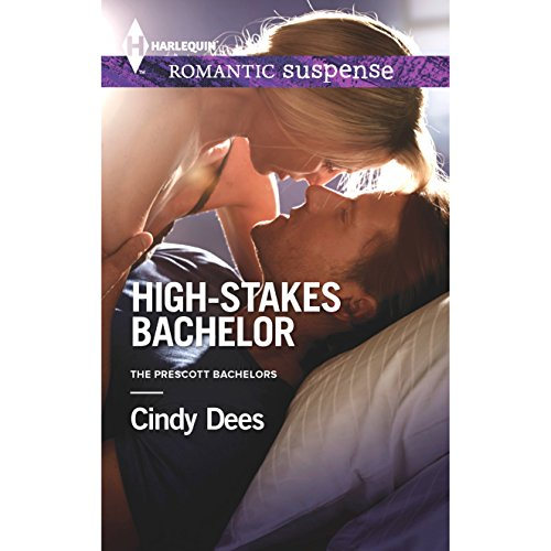 High-Stakes Bachelor audiobook cover art