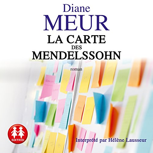 La carte des Mendelssohn audiobook cover art
