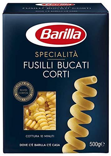 Barilla Pasta Fusilli Bucati Corti, Pasta Corta di Semola di Grano Duro, Specialità, 500 g