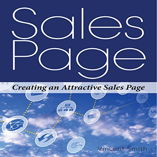 Sales Page audiobook cover art
