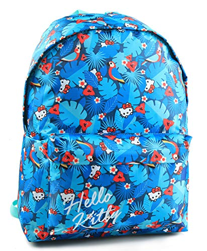 Jacob & Co. Backpack Hello Kitty - Mochila Infantil (40 cm), Color Azul