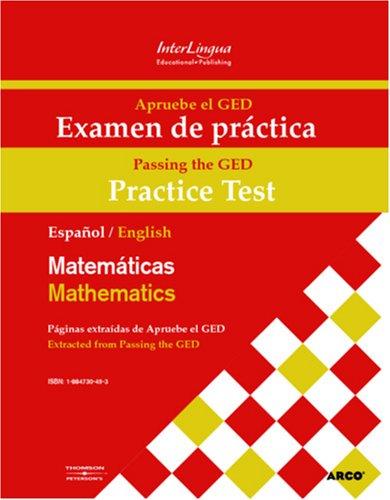 Apruebe El Ged Examen De Practica Matematicas Passing The Ged Practice Test Mathematics Revised Expanded