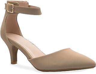 OLIVIA K Women's Sexy Glitter Rhinestone D'Orsay Ankle...