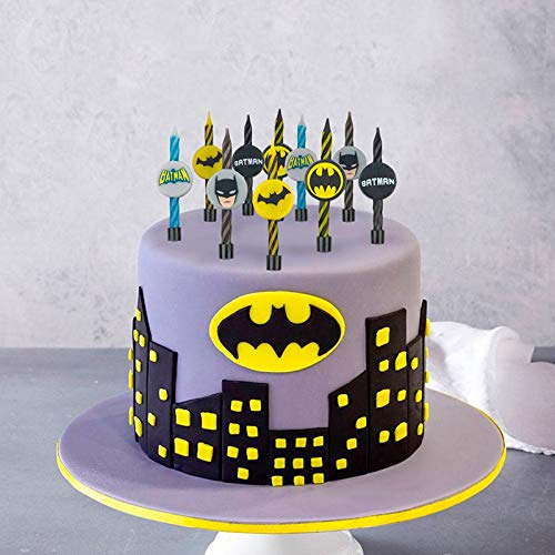 Cineréplicas Confezione da 10 candele di compleanno Batman DC Comics