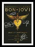 Bon Jovi Autogramme Signiert Und Gerahmt Foto
