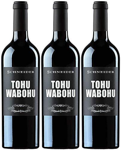 Markus Schneider Tohuwabohu 3er Paket   2017   Rotwein aus Deutschland   Pfalz   (3 x 0.75l)
