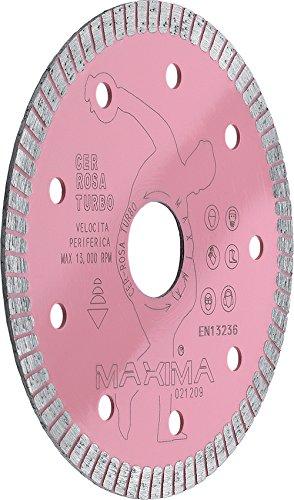 Disco diamantato per gres porcellanato Cer Rosa Turbo 85 mm Maxima CER085SF