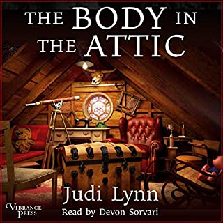 The Body in the Attic audiobook cover art