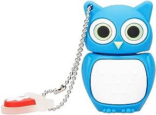 Yghfd USB Flash Drive 64GB Cute Animal Cartoon Owl USB 2.0 4GB 8GB 16GB 32GB 128GB Pen Drive USB Memory Creative PenDrive ...