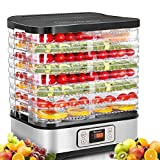 Food Dehydrator Machine, Digital Timer and Temperature Control, 5...