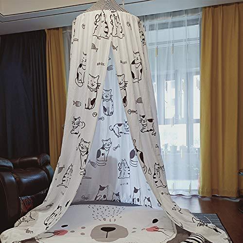 YXZN Hängende Kinder Baby Bettwäsche Kuppel Bett Vorhang Baby Baldachin Bettdecke Vorhang Für Baby Kinder Lesen Spielen Home Decor