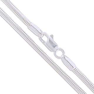 Best snake sterling silver chain Reviews