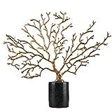 NXYJD Decoración de Lujo de la Vendimia - Nordic Moderna de Plata Antiguo Rica árbol Ambiente Creativo Home Living Crafts Oficina Decoración del Arte