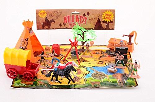 playset Wild West 20 Stück