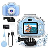 Yoophane Kids Waterproof Camera Gifts for 6 7 8 9 10 Year Old Boys Action Kids Camera for Boys Age...