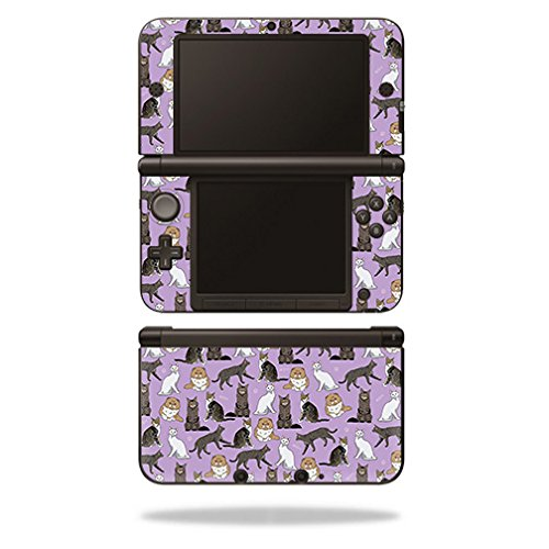 MightySkins Skin Compatible with Nintendo 3DS XL - Cat Chaos | Protective, Durable, and Unique Vinyl Decal wrap Cover | Easy to Apply, Remove, and Change Styles | Made in The USA